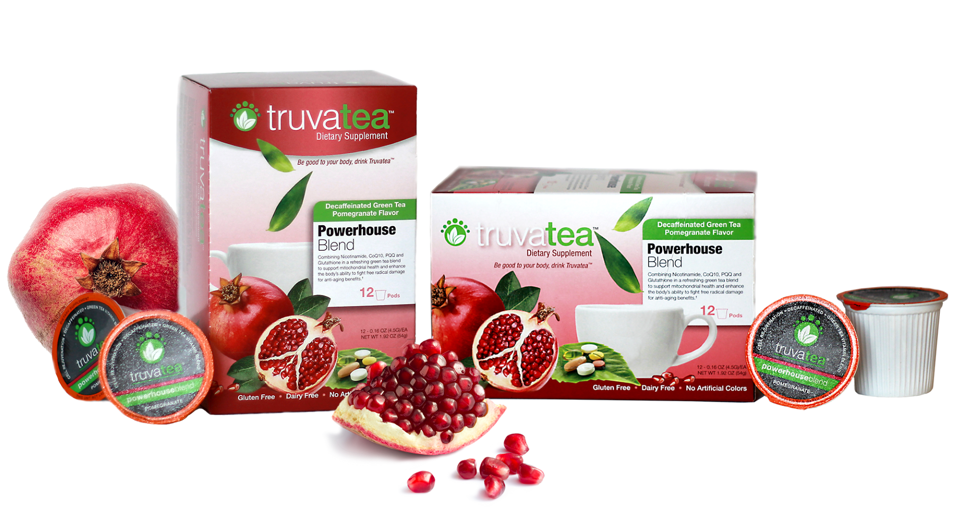 Truvatea packaging